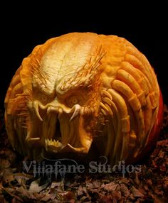 Ray Villafane's AMAZING pumpkin