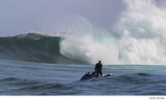Photos from a recent session at South African big-wave spot Dungeons.