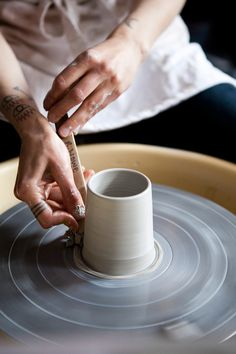 rainydaysandblankets:  just found out there's a pottery + clay...