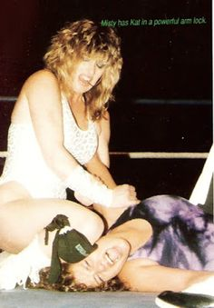 Assorted Thoughts From An Unsorted Mind: Women Wrestling: Misty Blue v Kat…
