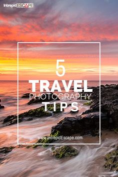 5 travel photography tips for bloggers #photography