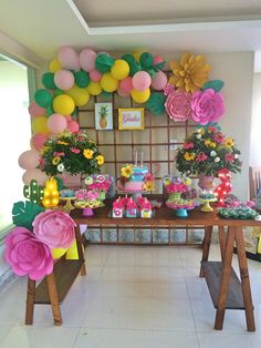Hawaiian Birthday, Flamingo Birthday, Luau Birthday, Flamingo Party, Birthday Parties, Aloha Party, Fiesta Party, Luau Party, Tropical Party