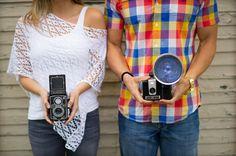 Paletta Mansion Burlington, love the vintage cameras Engagement Outfits, Engagement Shoots, Lasting Love, Vintage Cameras, Beautiful Couple, Palette, Outfit Ideas, Mansions, Nice