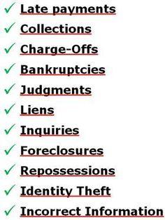 Section  Credit Dispute Letter Sample Credit Repair Secrets