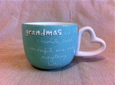 Mug for Grandma  www.sandramagsamen.com