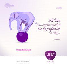 La Vita è un delicato equilibrio tra la perfezione e la bellezza.  #equilibrio#vita #aforismi #citazioni #quotes   www.clendy.it