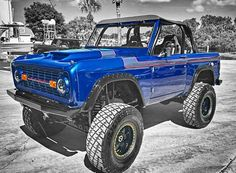 Ford Bronco Old Ford Bronco, Bronco Truck, Early Bronco, Classic Bronco, Classic Ford Broncos, Classic Trucks, Hot Rod Trucks, Cool Trucks, Jeep Scout