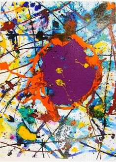 SAM FRANCIS / found on www. / Silkscreen / 82 x 61 cm Contemporary Art Prints, Modern Pop Art, Mondrian, Abstract Watercolor, Abstract Art, Sam Francis, Post Painterly Abstraction, Sculpture, Japanese Art