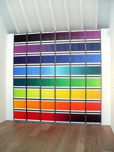 Olafur Eliasson, The Colour Spectrum Series