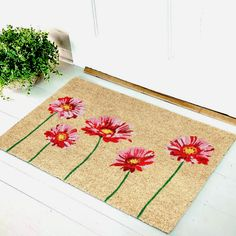 Mats Above 499 Coir Doormat, Door Mats, Welcome Mats, Fiber, Coconut, Surface, Shapes, Cleaning, Printed