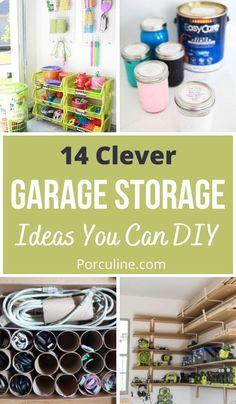 Organization Station, Home Organization Hacks, Garage Organization, Garage Storage, Organization Ideas, Storage Ideas, Clean Garage, Organized Garage, Diy Garage