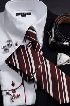 華やかな中に落ちる気のあるワインレッドを差し色にしたコーディネート #mens #shirtstyle #mens coordinate #mens fashion #dress shirt  #メンズファッション #メンズコーディネート #ワイシャツ  #Tie #necktie #ネクタイ #タイドアップ #ノータイ