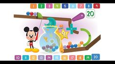 Disney Buddies - Let's Play Counting Numbers Song Along with Mickey Mouse & Friends HD Mickey Mouse Games, Mickey Mouse And Friends, Mickey Mouse Clubhouse, Disney Games, Learning Numbers, Disney Junior, Game App, Cool Cartoons, Online Games