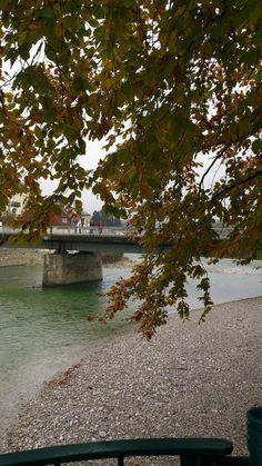 . Steyr, Austria, Autumn, River, Outdoor, Outdoors, Fall, Outdoor Games, Outdoor Living