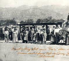 Farm workers, Chatsworth, Calif. 1900 :: San Fernando Valley History