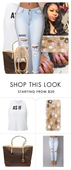 """ion wanna hype ya but you a lucky n*gga if my mean a*s like ya"" by lamamig ❤ liked on Polyvore featuring Miss Selfridge, Casetify, MICHAEL Michael Kors and Puma"
