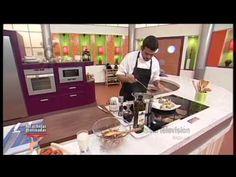 Receta: alcachofas salteadas con setas y jamón - YouTube