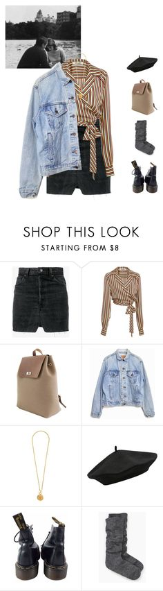 """Chapter 13."" by greciapaola ❤ liked on Polyvore featuring Vetements, Diane Von Furstenberg, Levi's, Chanel, M&Co, Dr. Martens and Kate Spade"