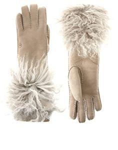 Ugg shearling gloves, $212