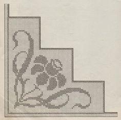 Ideas Embroidery Stitches Border Needlework For 2019 Crochet Circles, Crochet Borders, Cross Stitch Borders, Cross Stitching, Hand Embroidery Stitches, Hand Embroidery Designs, Crochet Stitches, Crochet Tablecloth, Crochet Doilies