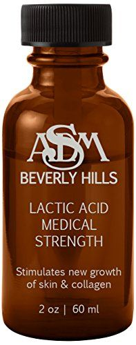 facial peel ASDM Beverly Hills Lactic Acid Peel, 2 Ounce * You can get more details by clicking on the image. Lactic Acid Peel, Face Treatment, Face Skin Care, New Growth, Best Face Products, Beverly Hills, Collagen, How To Find Out, Shampoo
