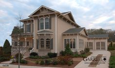 Garrell Associates, Inc.The Monroe House Plan # 04228, Front Elevation, Victorian Style House Plans, Master Down House Plans
