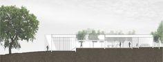studiofour_bourne road residence_longitudinal section