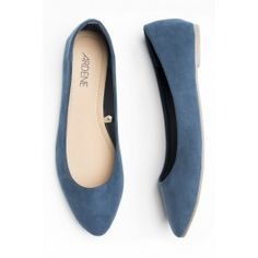 SUEDE ballerinas Ballerinas, Flats, Inspiration, Outfits, Shoes, Fashion, Loafers & Slip Ons, Biblical Inspiration, Moda