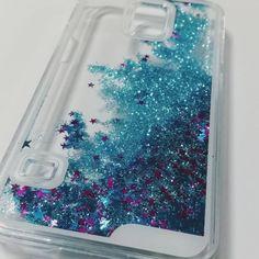 The LIQUID GLITTER Case BLUE Samsung Galaxy S5 by ANTIapparel