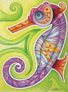 Hippocampus by Jose-Garel-Alvoeiro on deviantART
