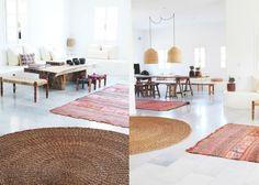 Ronde Vloerkleed Goedkoop : Mooi rond nature vloerkleed flooring ideas wohnzimmer