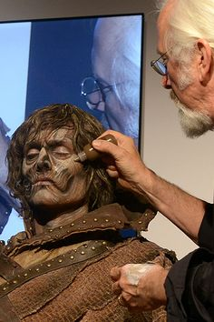 Special-effects legend Rick Baker reveals the process behind his three looks for… Monster Makeup, Monster Mask, Eye Makeup, Hair Makeup, Zombie Makeup, Best Makeup Artist, Professional Makeup Artist, Best Makeup Brushes, Best Makeup Products