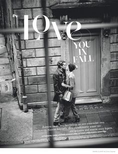 Sophie & Pete Star in Fall Love Story for Marie Claire Netherlands