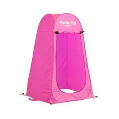 GigaTent Portable Pop Up Changing Room Green-ST002 - The Home Depot Tent Set Up, Pop Up Tent, Pop Up Changing Room, Sun Shade Tent, Portable Outdoor Shower, Camping Trailer Diy, Must Have Travel Accessories, Boy Scout Camping, Rain Shelter