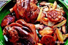 Csülök pékné módra - Vidék Íze Pork, Beef, Kale Stir Fry, Meat, Pork Chops, Steak