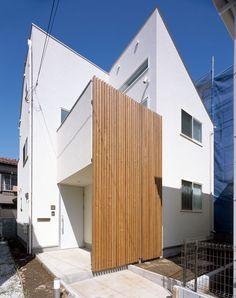 CASE 191   リビングが広がる家(東京都大田区)  ローコスト・低価格住宅 狭小住宅・コンパクトハウス   注文住宅なら建築設計事務所 フリーダムアーキテクツデザイン