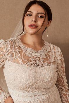 Tadashi Shoji Didion Gown - BHLDN Bridal Outfits, Bridal Gowns, Wedding Gowns, Lace Wedding, Dream Wedding, Bhldn Wedding, Wedding Beauty, Spring Wedding, Tulle Bows