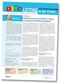 Organisation und Finanzen | Kita-Leitung in der Praxis