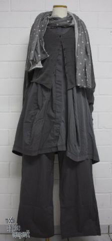 """www.modegalerie-bongardt.de - rundholz mode, rundholz black label, Rundholz DIP Rundholz black label summer 2014 trousers """"long wide legs"""" cotton...2 different colours !"""