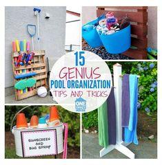 Pvc Pool, Pool Fun, Pool Water, Pool Toy Storage, Pool Float Storage, Semi Above Ground Pool, In Ground Pools, Swimming Pool House, Swimming Pools