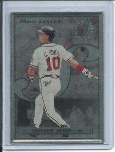 Chipper Jones Atlanta Braves (Baseball Card) 1996 Leaf Preferred Steel #33