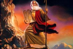 "Moses was a religious leader and a prophet to whom the authorship of the ""Books of the Law""is Biblically ascribed."