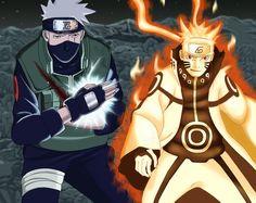 Hatake Kakashi and Uzumaki Naruto