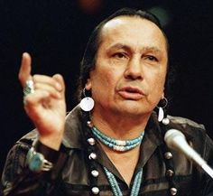 Russell Means was a leader in American Indian rights and the occupation of Wounded Knee. He later earned fame as an actor and became an increasingly visible activist.