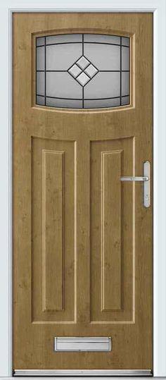 Rockdoor Newark are very popular. Rockdoors are the only composite door manufacturer to make a door so suited to the Fitted from Make A Door, Blue Lantern, 1930s House, Composite Door, Garage Doors, Front Doors, Light Oak, Bright Stars, Lanterns