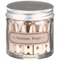 wilko camper mini pegs in jar working on my sh. Black Bedroom Furniture Sets. Home Design Ideas