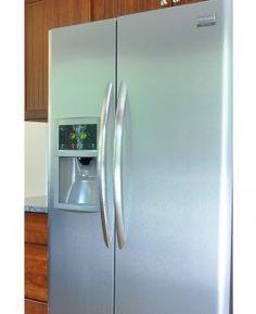 Photo of a refrigerator