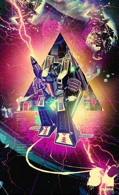 Starscream   Mike Orduna : Transformers