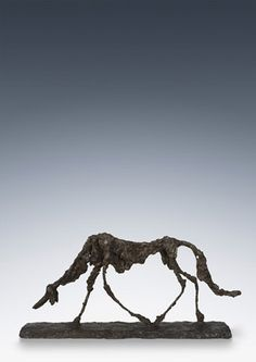 Alberto Giacometti, Le chien (The dog), 1951