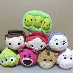 Disney Tsum Tsum Small Plush Beanbag Special SET OF 8 NEW | eBay